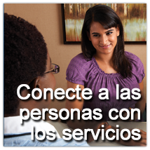 Connect people to services